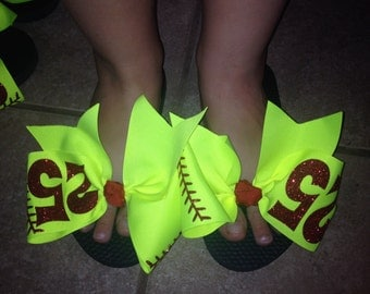 Softball or Baseball Flipflops