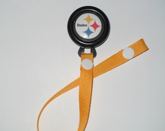 Pittsburgh Steelers Pacifier Clip