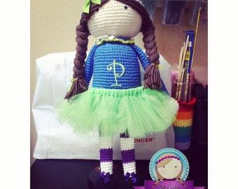 Amigurumi Doll / muñeca en crochet