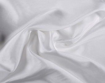 "45"" Wide 100% Silk Habotai Ivory-Wholesale by the Yard"