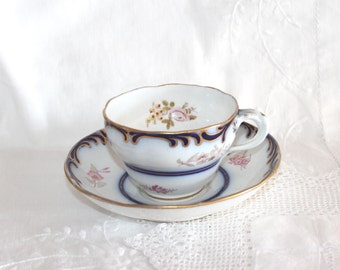 Antique Davenport cup and saucer
