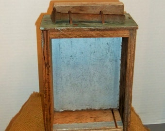 Old Wooden Tool Drawer Great for Shadowbox or Display
