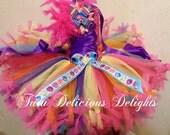 My Little Pony Rainbow Petti Tutu Dress My Little Pony Dress, My Little Pony Party, Birthday Tutu Dresses