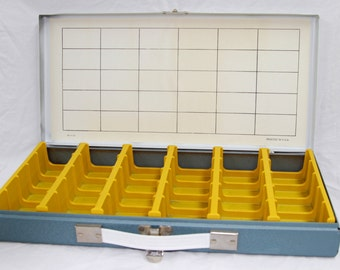Vintage Organizer Box - Smith Victor Slide Case - 1970's