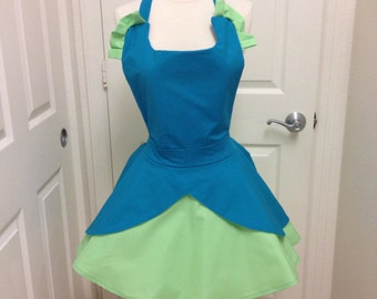 Drizella apron with hair bow