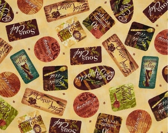 Quilting Treasures - Hot Little Dish - Labels