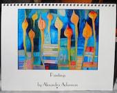 2015 Art Calendar, Only 1 left!