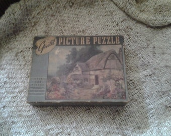 Vintage Guild  Picture Puzzle - A Garden is a Lovesome Thing