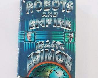 vintage book - Robots and Empire - Isaac Asimov - first edition
