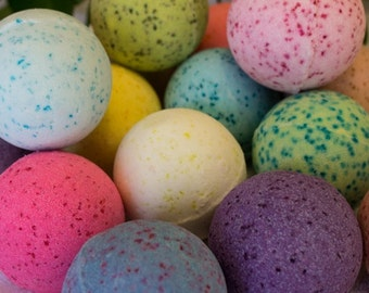 Bath Bomb Fizzys -Over 100 Scents to Choose from!!!  24 Extra Large Handmade All Natural - You Pick the Scents