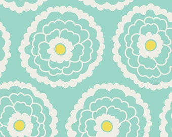 Art Gallery Fabric - Essentials - Girl About Town Mint - Patricia Bravo-Choose Your Cut 1/2 or Full Yard