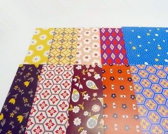 20 Sheets Japanese Origami Paper Pack for Origami Paper Project - 17cm x 17cm Pattern Gift Pack