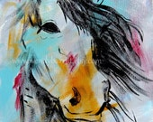 Horse Print-Colorful Horse print