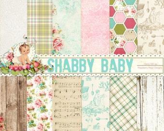 Shabby Baby Paper Set