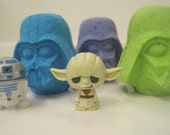 8 indivually wrapped Bath Bombs with toys inside