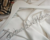 White Coat Ceremony Gifts, Pre Med Student, Future Doctor Last Name Hanger