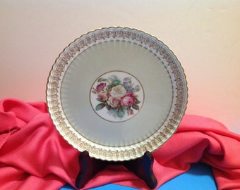 Vintage J.E. Caldwell numbered plate