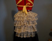 """The """"Antique"""" Bustle, Ready to Ship, Goth, Dance, Dress Up, Cosplay, Steampunk"""