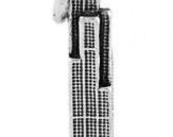 Sterling Silver Chicago Sears Tower Charm