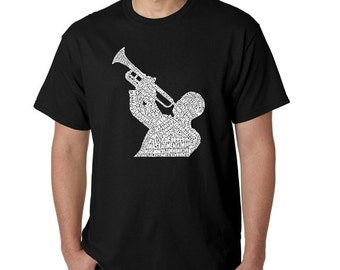 Men's T-shirt - All Time Jazz Songs's
