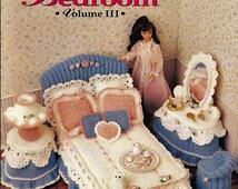 Barbie Furniture, Sweetheart beadroom Volume III, Annie Attic Crochet Furniture Pattern
