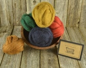 Needle Felting Wool - Prescott Collection - Wet Felting Wool - Spinning Wool-Nuno Felting