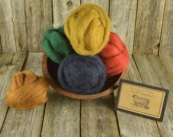 Needle Felting Wool - Prescott Collection - Wet Felting Wool - Spinning Wool-Nuno Felting