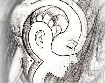 "Martinefa's original drawing - ""Eggs"""