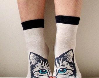 Boot Socks Women Socks Leg Warmer Christmas Socks Boot Socks Red Socks Ladies Casual Cotton Socks Ankle Socks