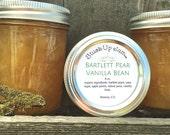Jam - Bartlett Pear Vanilla Bean Jam - Natural & Organic