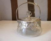Art Nouveau WMF  Silver Plate Bon Bon Candy Dish Jugendstil