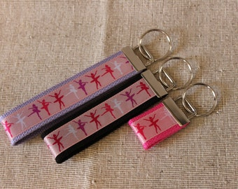 Ballet Key Fob, Bag Tag