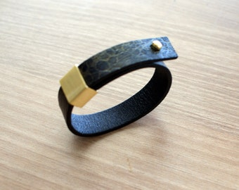 unisex bracelet  high quality leather 100% real  leather handmade bracelet