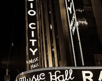 8x10 - NYC, Radio City Music Hall