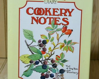 Vintage Cookbook Cookery Notes  The Country Diary  Edith Holden  Alison Harding  Bloomsbury Books  Hardback  Dust Cover London  1993
