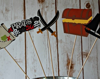 Pirate Birthday Party Centerpiece
