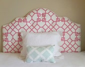 Custom Tufted Upholstered Headboard -- Made to order -- wall mounted