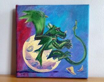 Hatching Dragon Egg by Robin McCahill