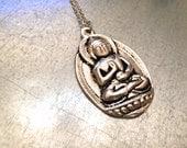 Buddha Necklace, Siddhartha Gautama, Spiritual Necklace, The Enlightened One, Nepalese Jewelry,Tibetan Jewelry