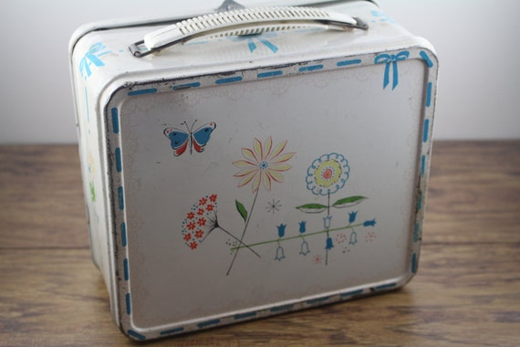 1956 Junior Miss Metal Lunch Box