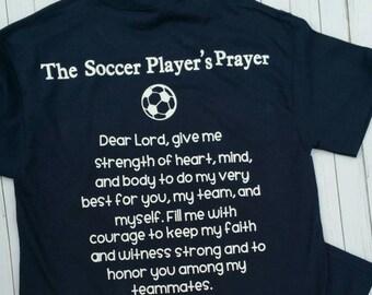 Soccer Player's Prayer T-shirt