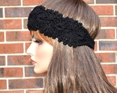 Soft  headband, 4 Season  headband,  Very cute, Handmade Accessory,  Womens Crochet Headband. Style.5
