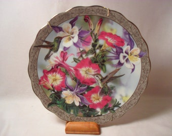 Perfect Harmony by Janene Grende from Whispering Wings Collection Plate