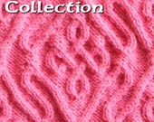 SUMMER SALE! Celtic Knots for knitting vols. 1 - 5 50% OFF