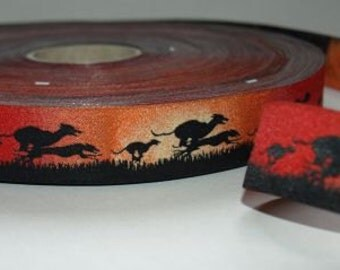 Jacquard Ribbon greyhound racing dogs