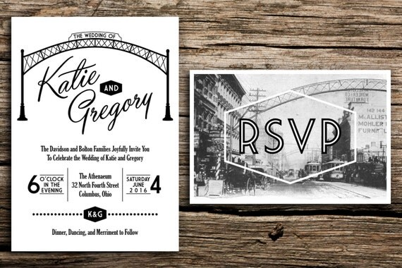 Wedding Invitations Columbus Ohio can inspire you to create best invitation template