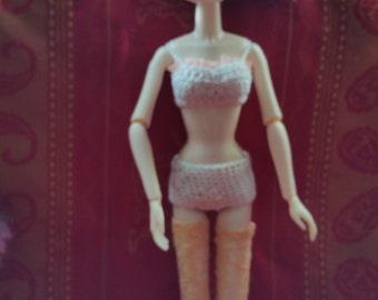 Bra and Briefs for Pullip.. Blythe, Tangkou, J-Jun dolls