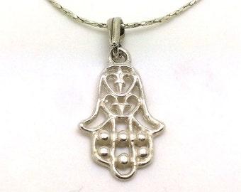 hamsa necklace - ID: 78 - 37849