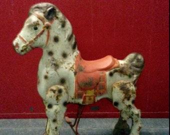 1950's Mobo Bronco Toy Riding Horse