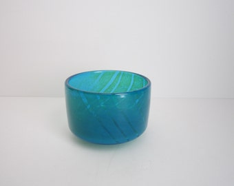 Vintage Blown Glass Bowl